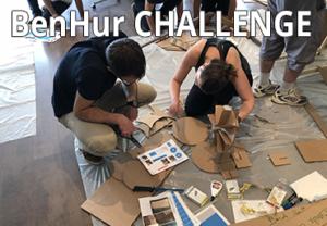 photo illustrant le teambuilding Benhur Challenge
