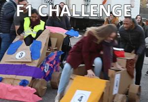 Team building F1 challenge en carton